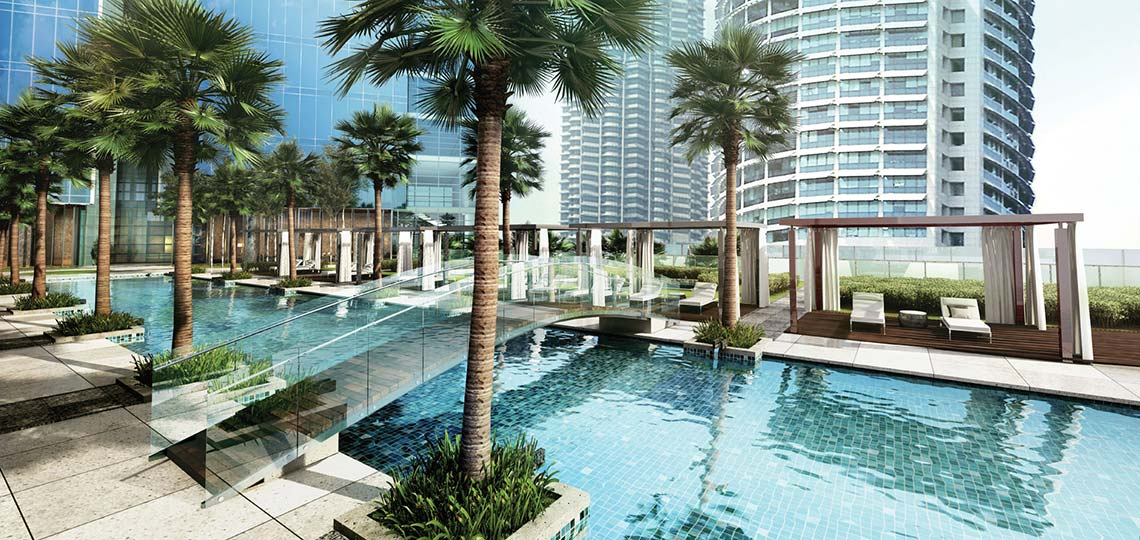 Four seasons place kuala lumpur venus assets for Best hotel swimming pool in kuala lumpur